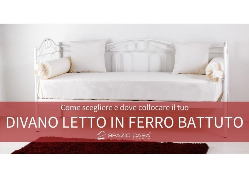 Divano letto in ferro battuto un arredo versatile for Divano letto in ferro battuto ikea