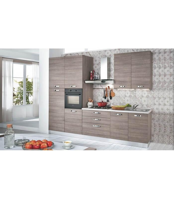 cucina moderna 3m larice grigio