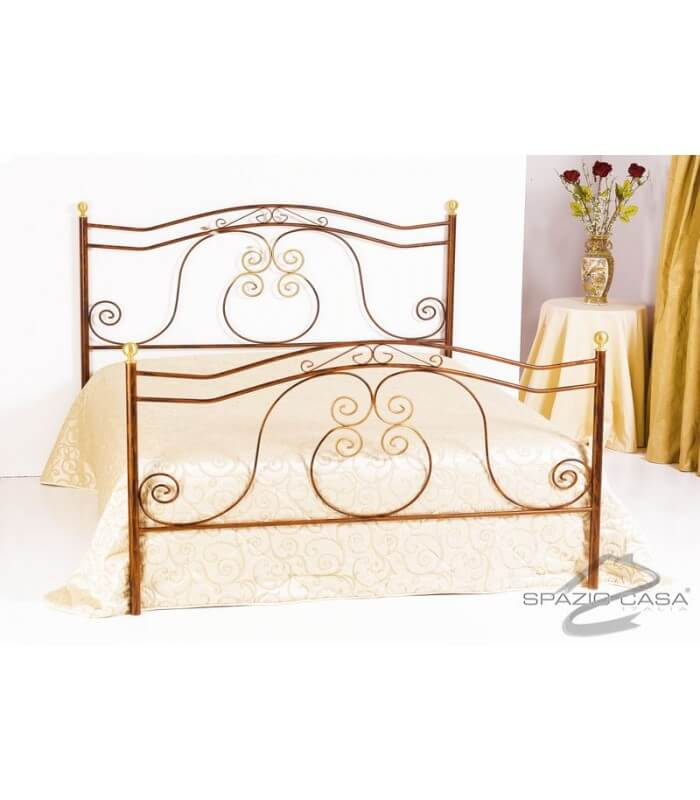 Letto in ferro battuto barocco - Testate letto in ferro battuto ...
