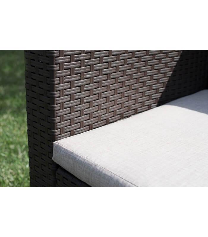 Salotto set sof per esterno effetto rattan in for Divani x esterno
