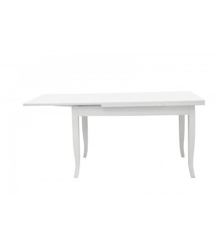 Tavolo rettangolare allungabile in legno con piede a sciabola for Planimetrie di 1400 piedi quadrati