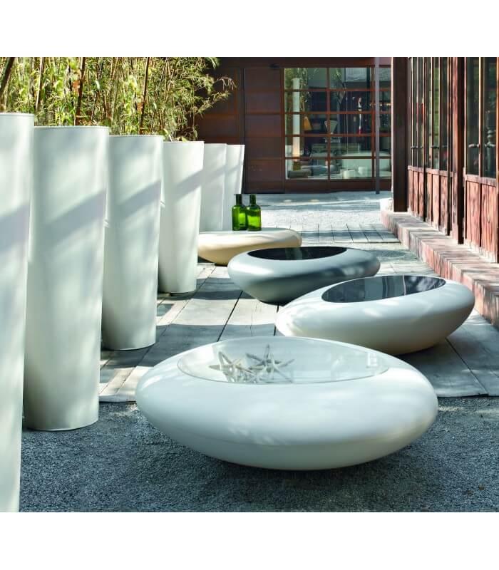 Tavolino da salotto kos design contemporaneo tonin casa for Complementi arredo salotto