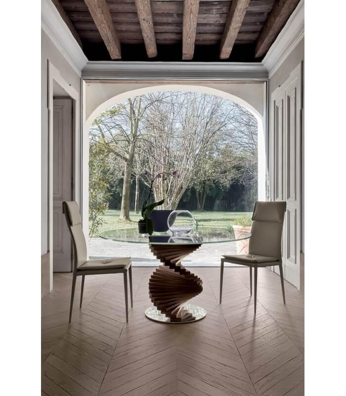 Tavolo da salotto pranzo firenze design moderno tonin casa for Tavolo da salotto moderno