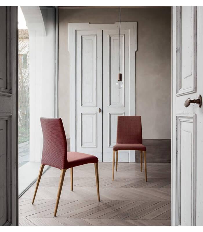 Sedia poltrona design moderno aragona tonin casa for Sedia moderna design