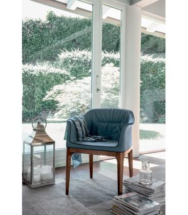 Poltrona sedia moderna di design Mivida Tonin Casa