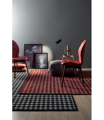 Sedia imbottita moderna di design Sorrento Tonin Casa