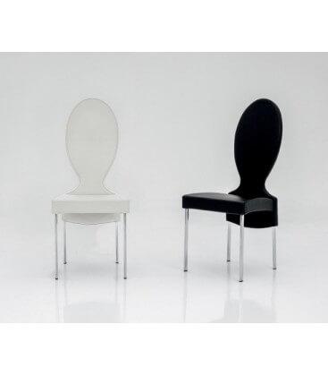 Sedia moderna da salotto con schienale alto Vivienne Tonin Casa