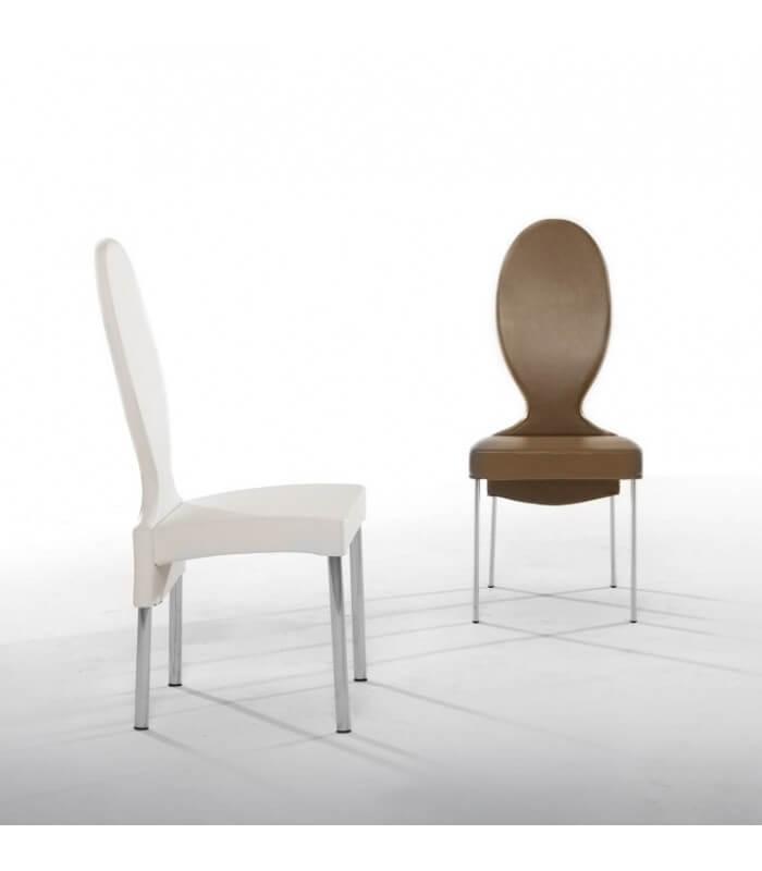 Sedie Con Schienale Alto.Sedia Salotto Schienale Alto Design Moderno Vivienne Tonin Casa