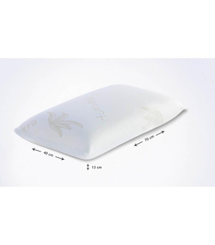 Cuscino Lattice Modello Saponetta.Cuscino Modello Saponetta Memory Aloe 70x40x13 H Cm