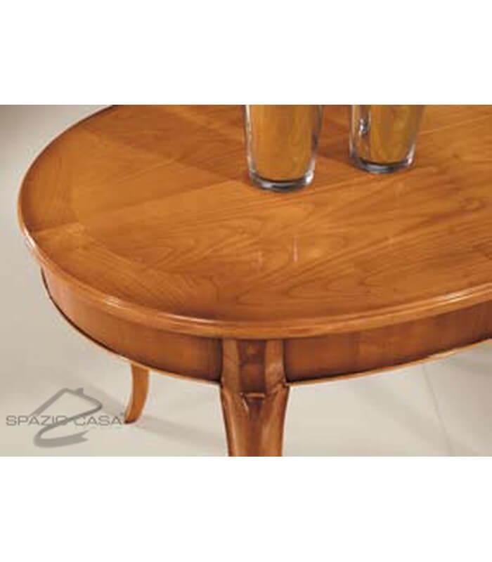 Tavolo ovale legno ciliegio allungabile - Tavolo legno ovale allungabile ...