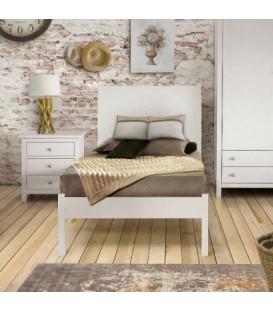 Letti singoli una piazza e mezza francesi matrimoniali o su misura spazio casa - Letto singolo legno ...