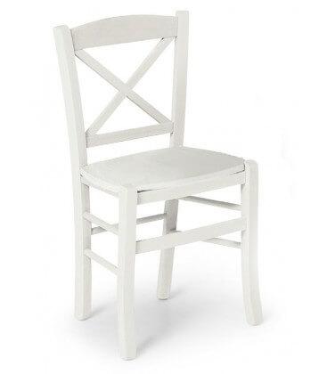 Sedia Croce seduta massello