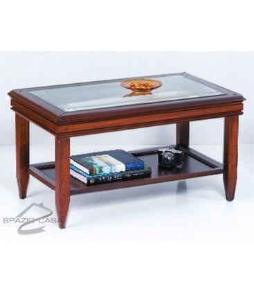 Tavolino da salotto in legno 85 x 50