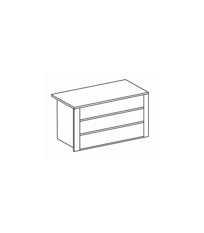 Cassettiera interna armadio 3 cassetti - Spazio Casa