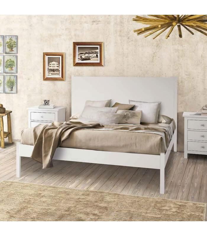 Letto matrimoniale legno - Spalliere letto in legno ...