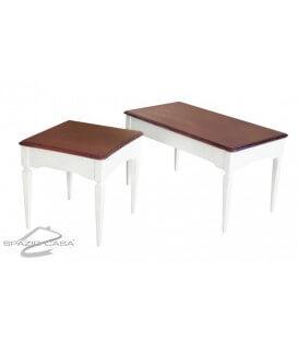 Tavolino da Salotto Piede a Spillo