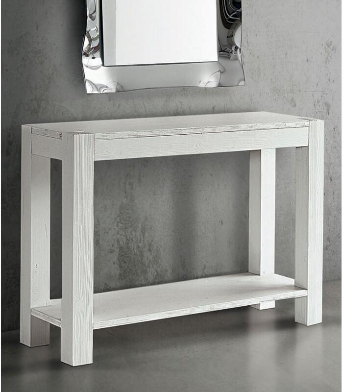Consolle in abete bianco spazzolato for Consolle moderna