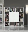 Libreria Bianco Frassinato 175