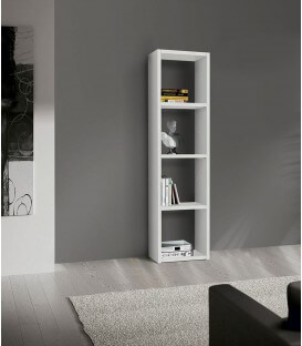 Libreria Bianco Frassinato 46