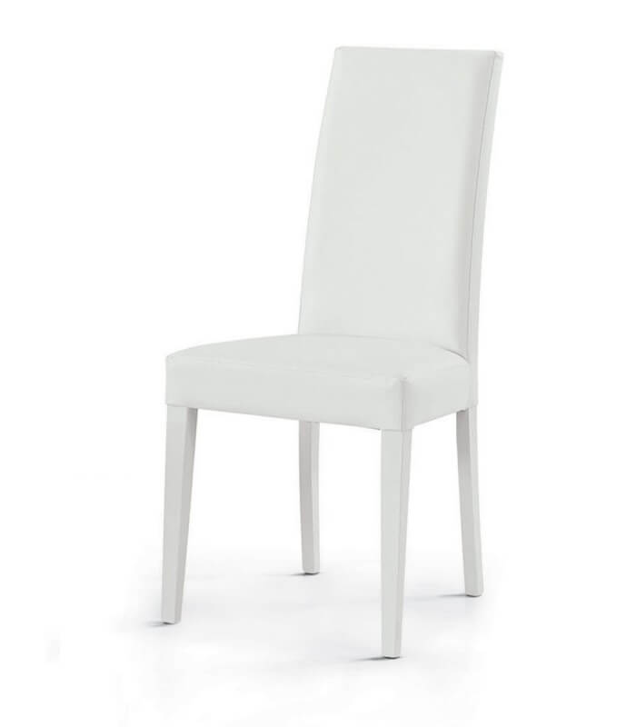 Sedia da salotto schienale alto anthony for Sedie moderne salotto