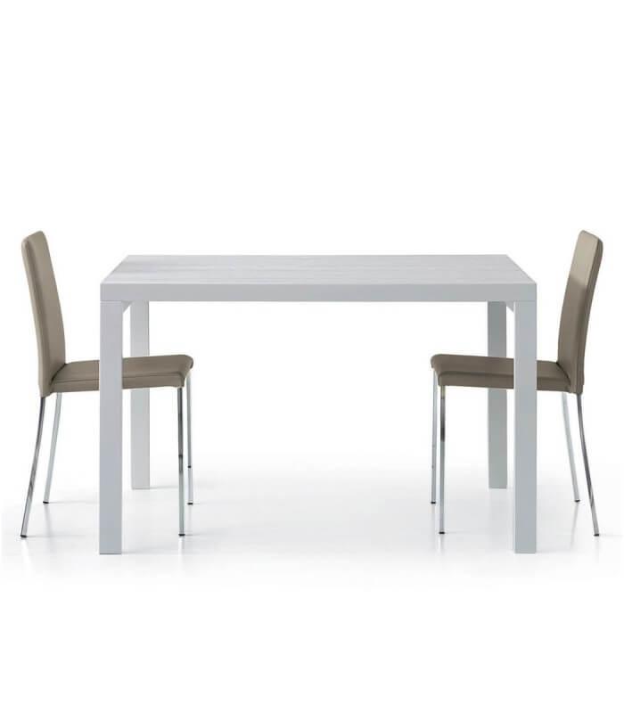 Tavolo rettangolare bianco frassinato for Tavolo rettangolare bianco