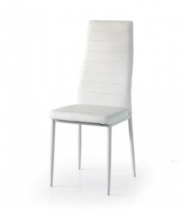 Sedia con schienale alto in ecopelle