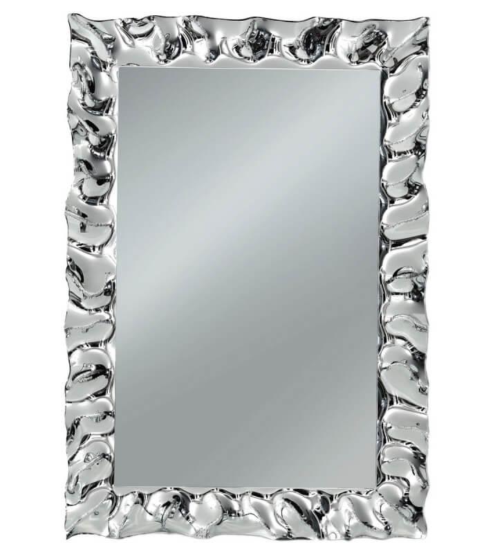 Specchio con cornice moderna argento - Specchio con cornice dorata ...