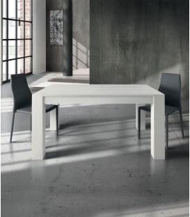 Tavolo Rovere Spazzolato bianco allungabile