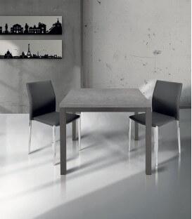 Tavolo quadrato moderno grigio