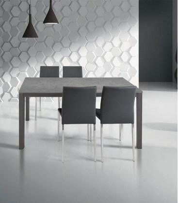Tavolo moderno allungabile grigio