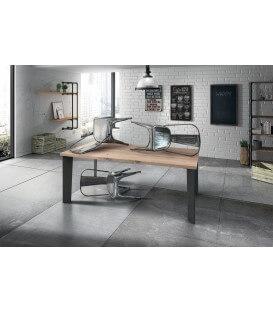 Tavolo moderno rettangolare fisso rovere impiallacciato