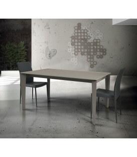 Tavolo in vetro allungabile moderno