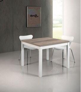 Tavolo moderno a libro con piano in legno