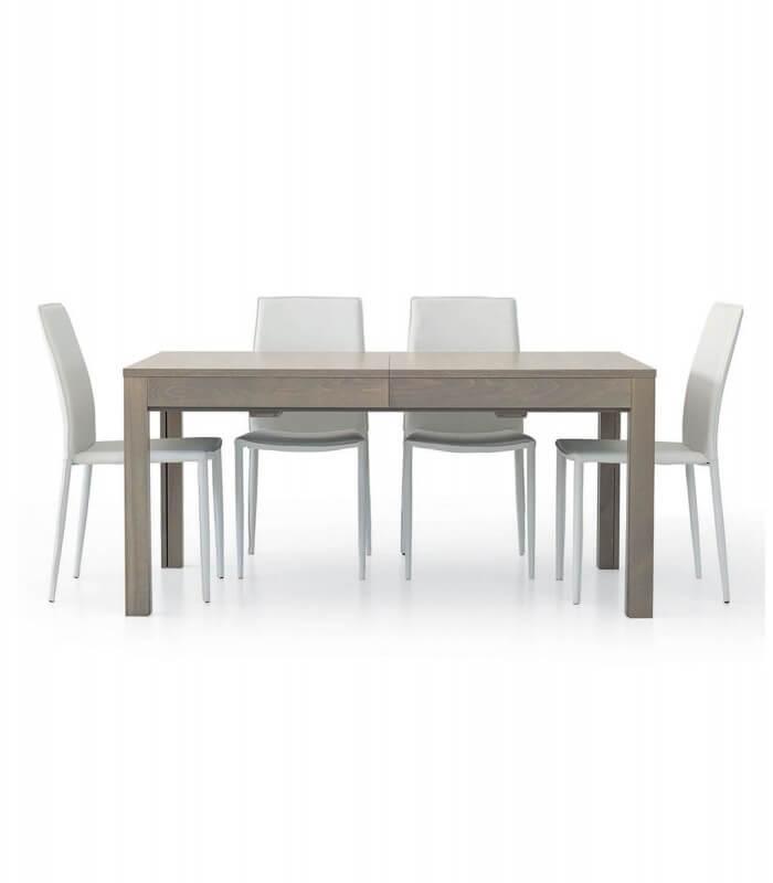 Tavolo rettangolare allungabile in laminato 3 3 3 5 m for Tavolo allungabile grigio