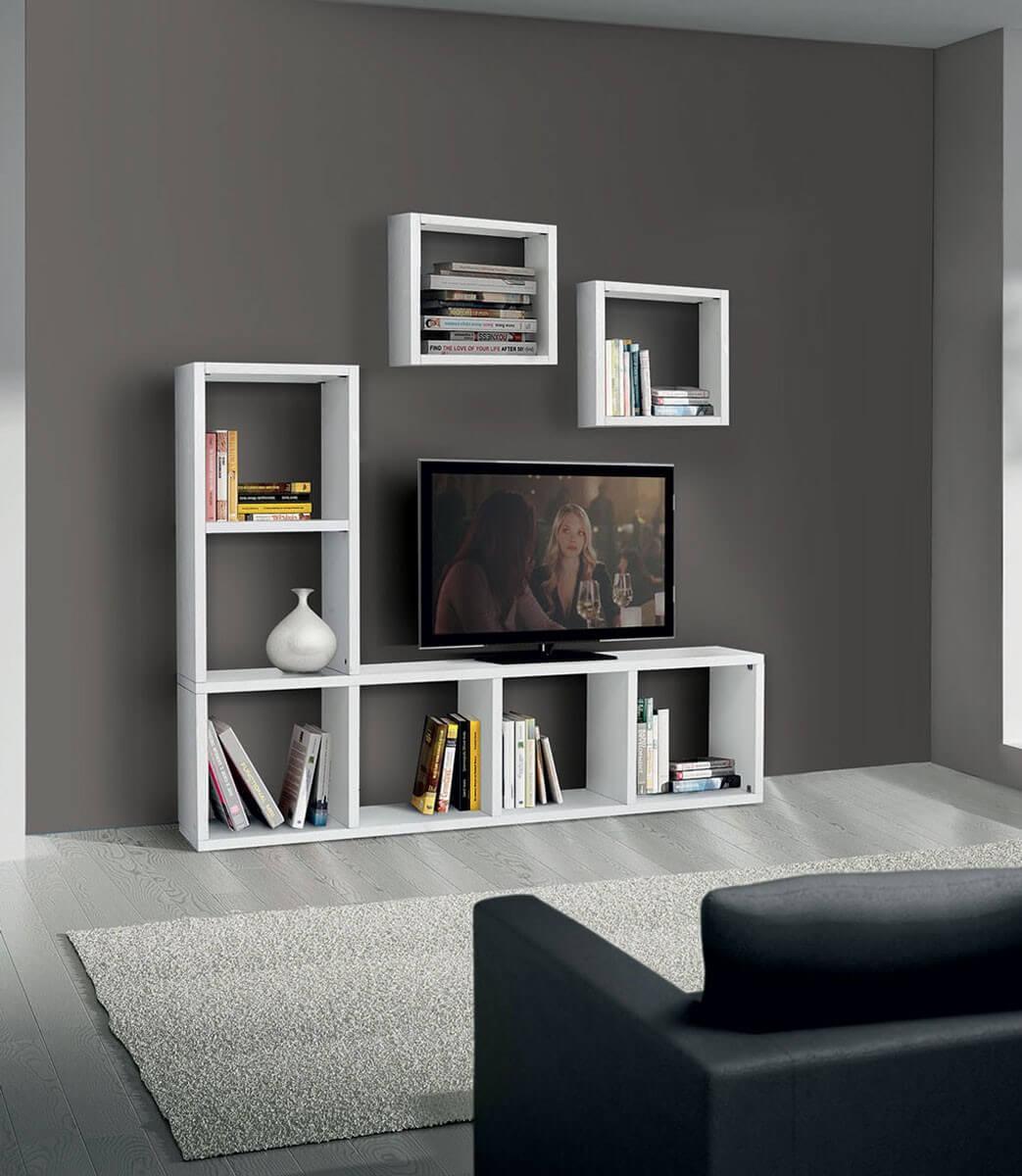 Porta tv bianco frassinato - Dalani mobili porta tv ...