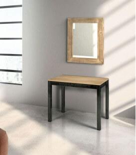 Specchio in legno prima patina