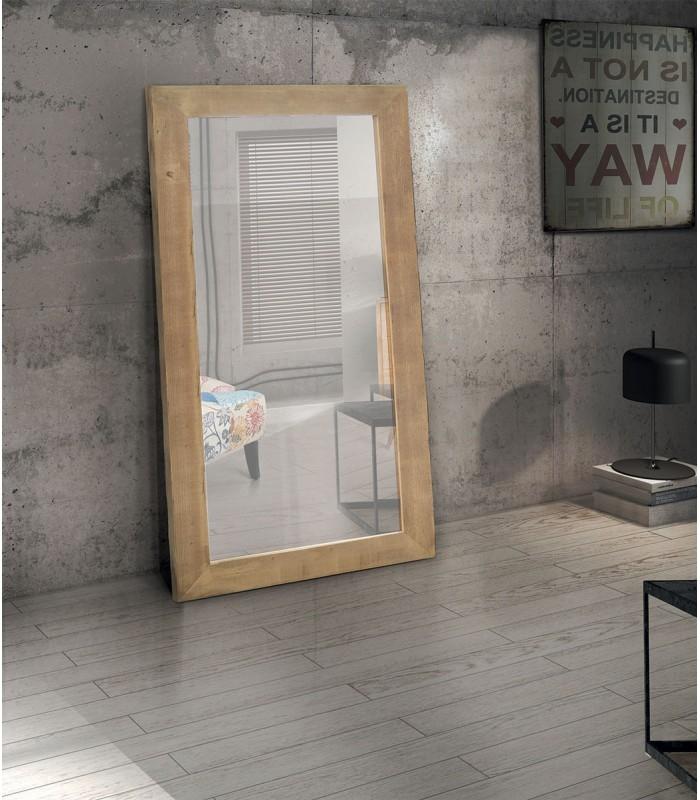 Specchio In Legno Prima Patina 176x86 Spazio Casa
