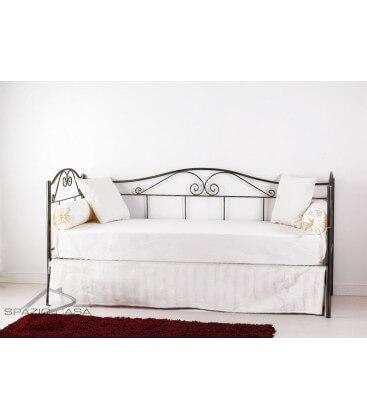 Mantovana copri rete per divano letto in ferro