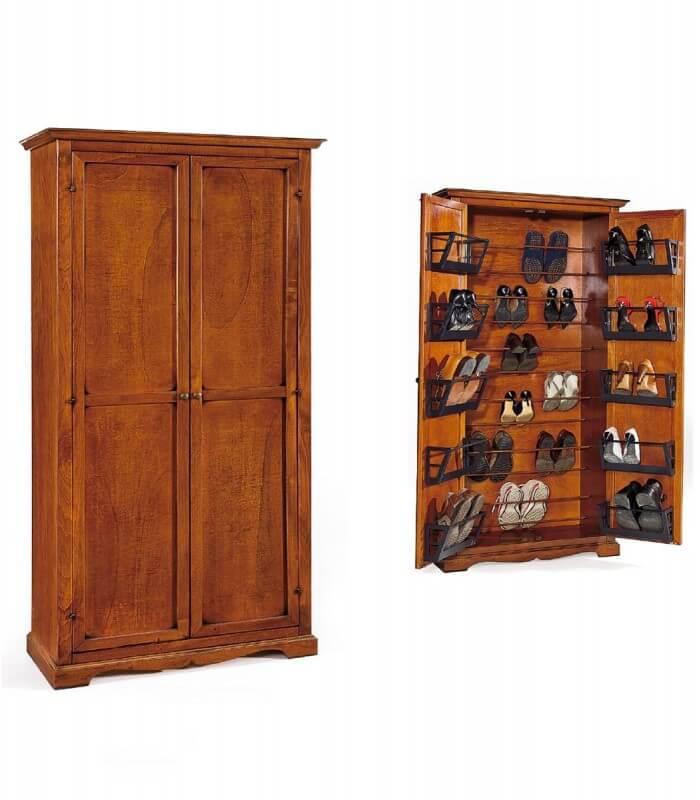 Scarpiera classica in legno - Spazio Casa