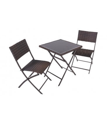 Set Coveri Garden tavolo + 2 sedie