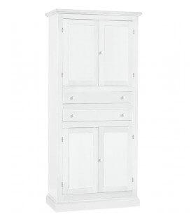 Stipo in legno con cassetti centrali