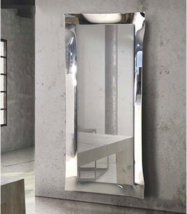 Specchiera 170x70 in vetro rifinito in argento nebulizzato.