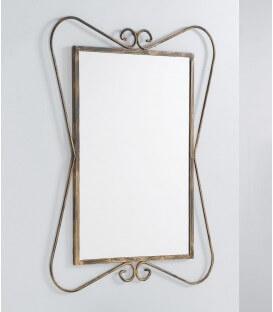 Specchio da Parete in ferro battuto
