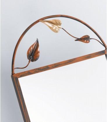 Specchiera basculante 2S con foglie