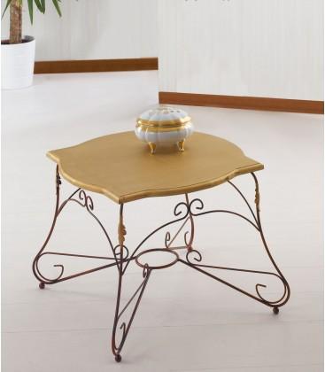 Tavolino quadrato Ariel piano legno