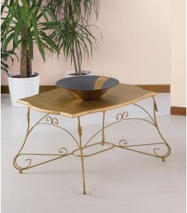 Tavolino rettangolare Ariel piano legno