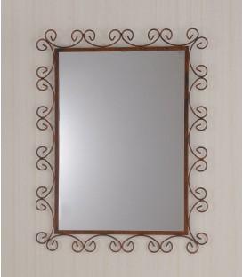 Specchio da Parete Modello C in ferro battuto