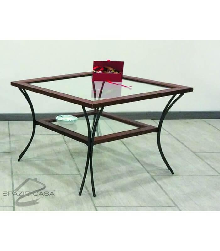 Tavolini ferro battuto tavolino da salotto in legno con - Tavolini in ferro battuto ikea ...