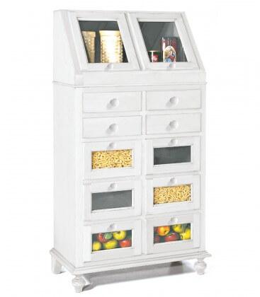 Mobile dispensa classico da cucina in legno