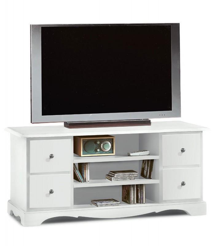 Mobile Porta Tv Classico con 4 cassettini - Spazio Casa